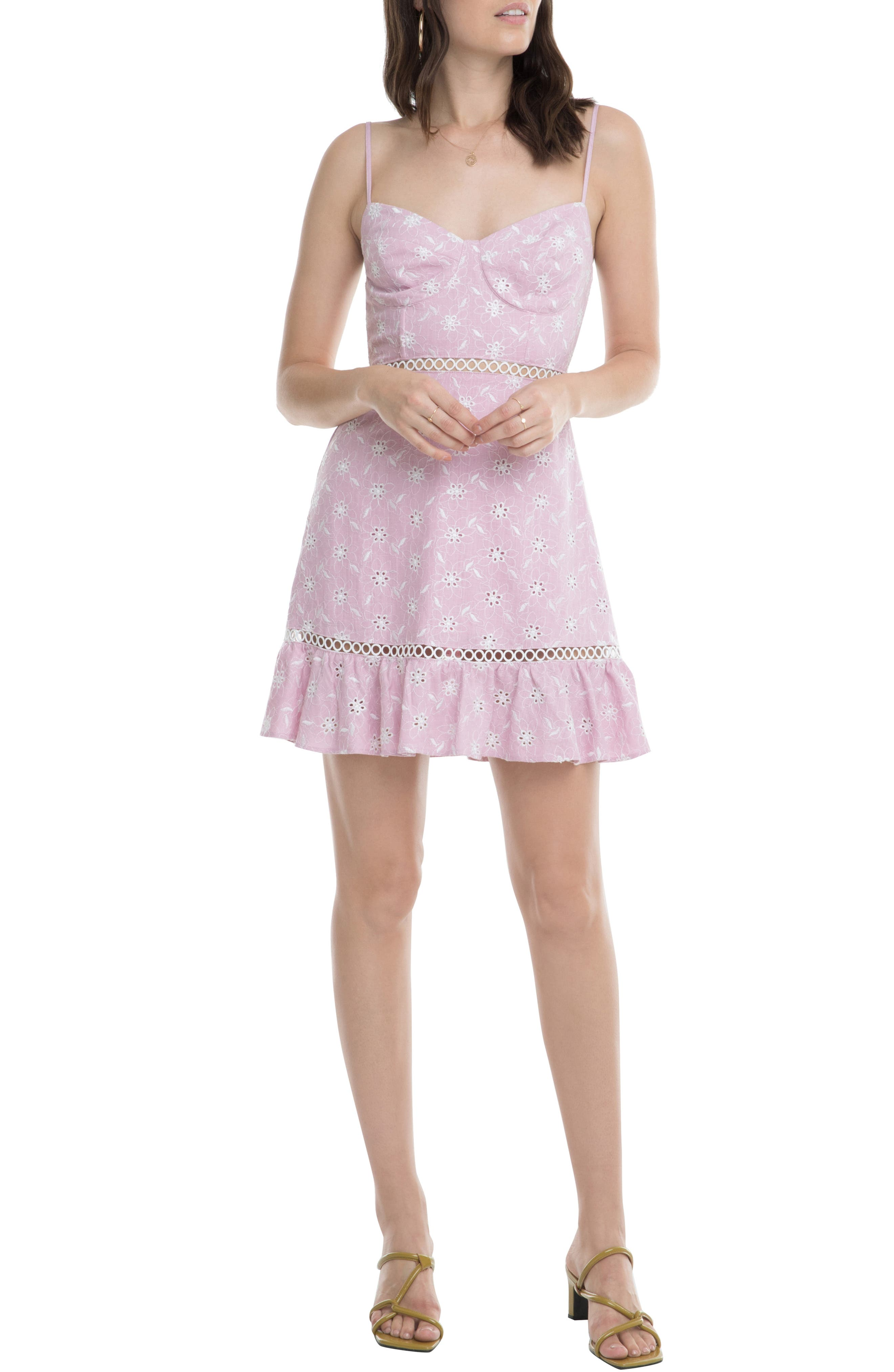 Astr The Label Anne Sundress, Pink