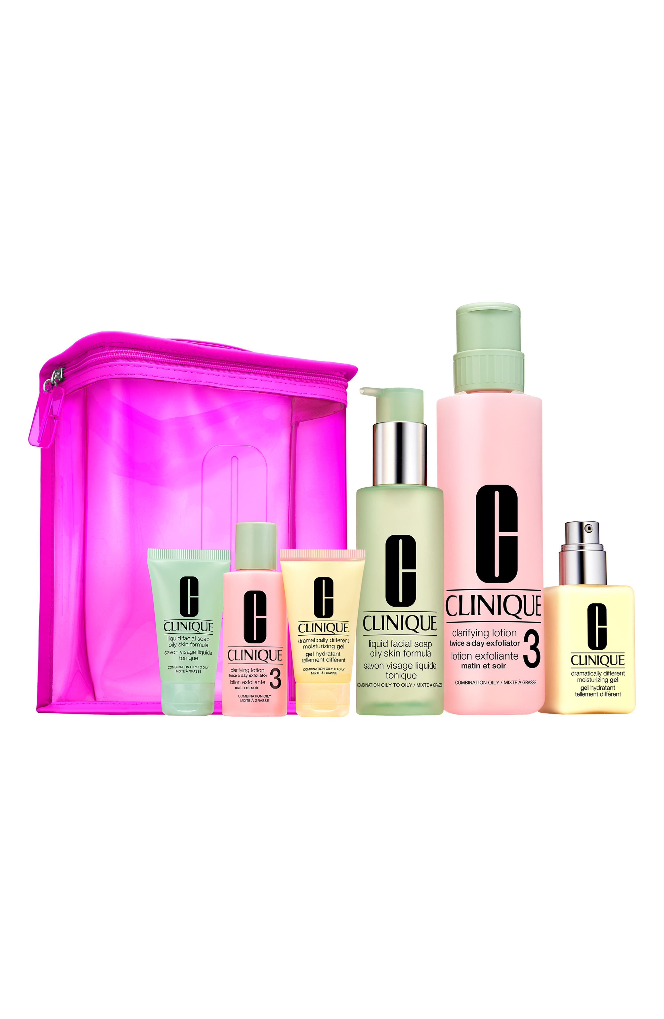 Great Skin Home & Away Set for Skin Types III & IV, Main, color, NO COLOR