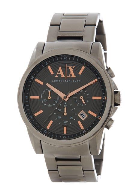 Image of AX ARMANI EXCHANGE Men's Chronograph Bracelet Watch, 45mm