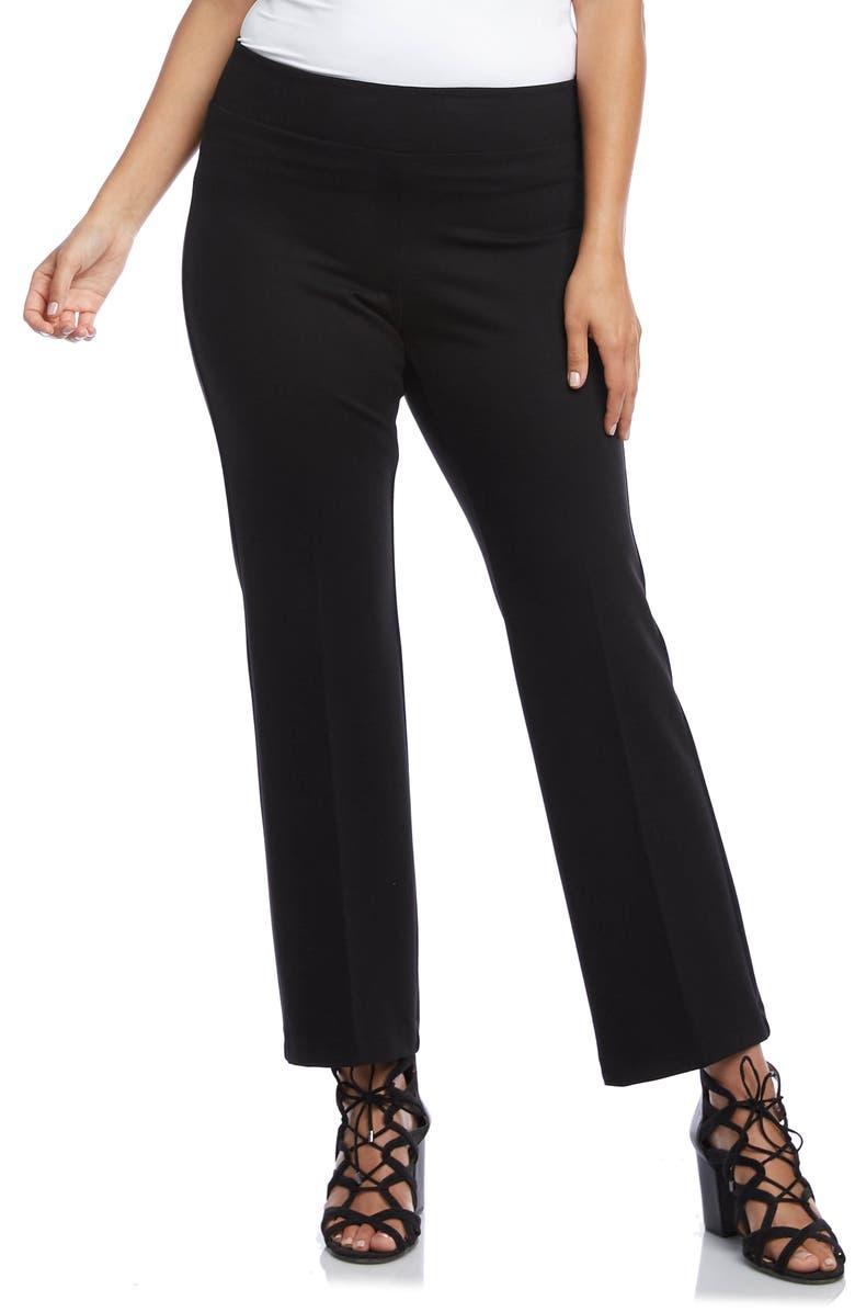 KAREN KANE Wonder Knit Pants, Main, color, BLACK