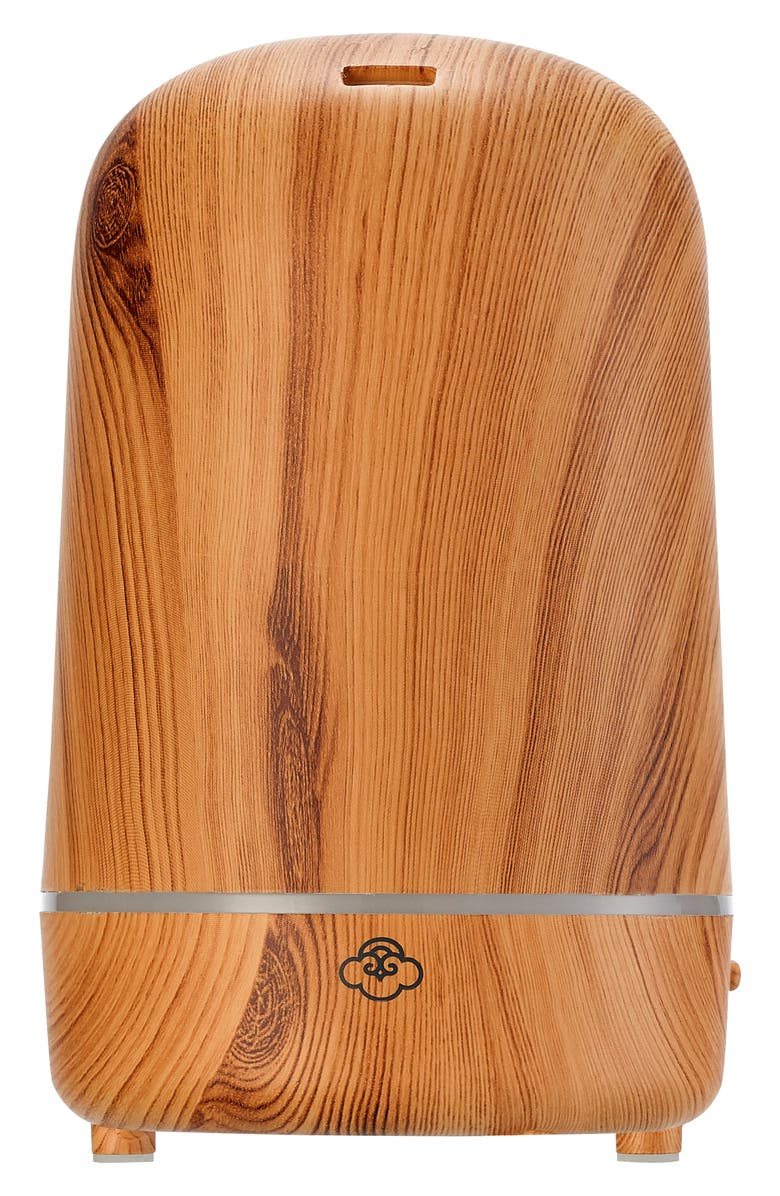 SERENE HOUSE Ultrasonic Aromatherapy Diffuser, Main, color, LIGHT WOOD