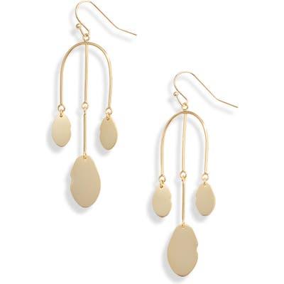 Argento Vivo Mirror Charm Drop Earrings