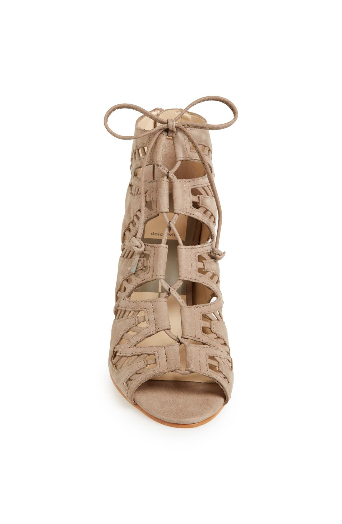 ,                             'Shandy' Cutout Sandal,                             Alternate thumbnail 7, color,                             260