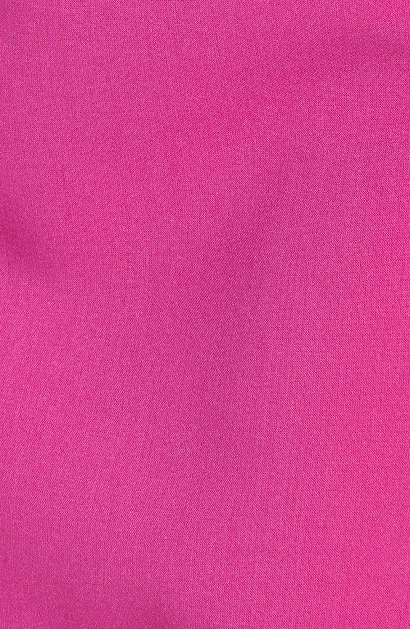 ,                             Whisper Light Sheath Minidress,                             Alternate thumbnail 6, color,                             PINK PASSION