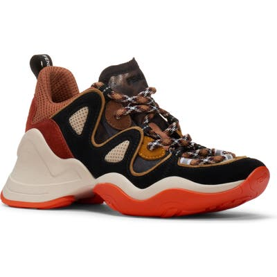Fendi Ffluid Sneaker - Orange