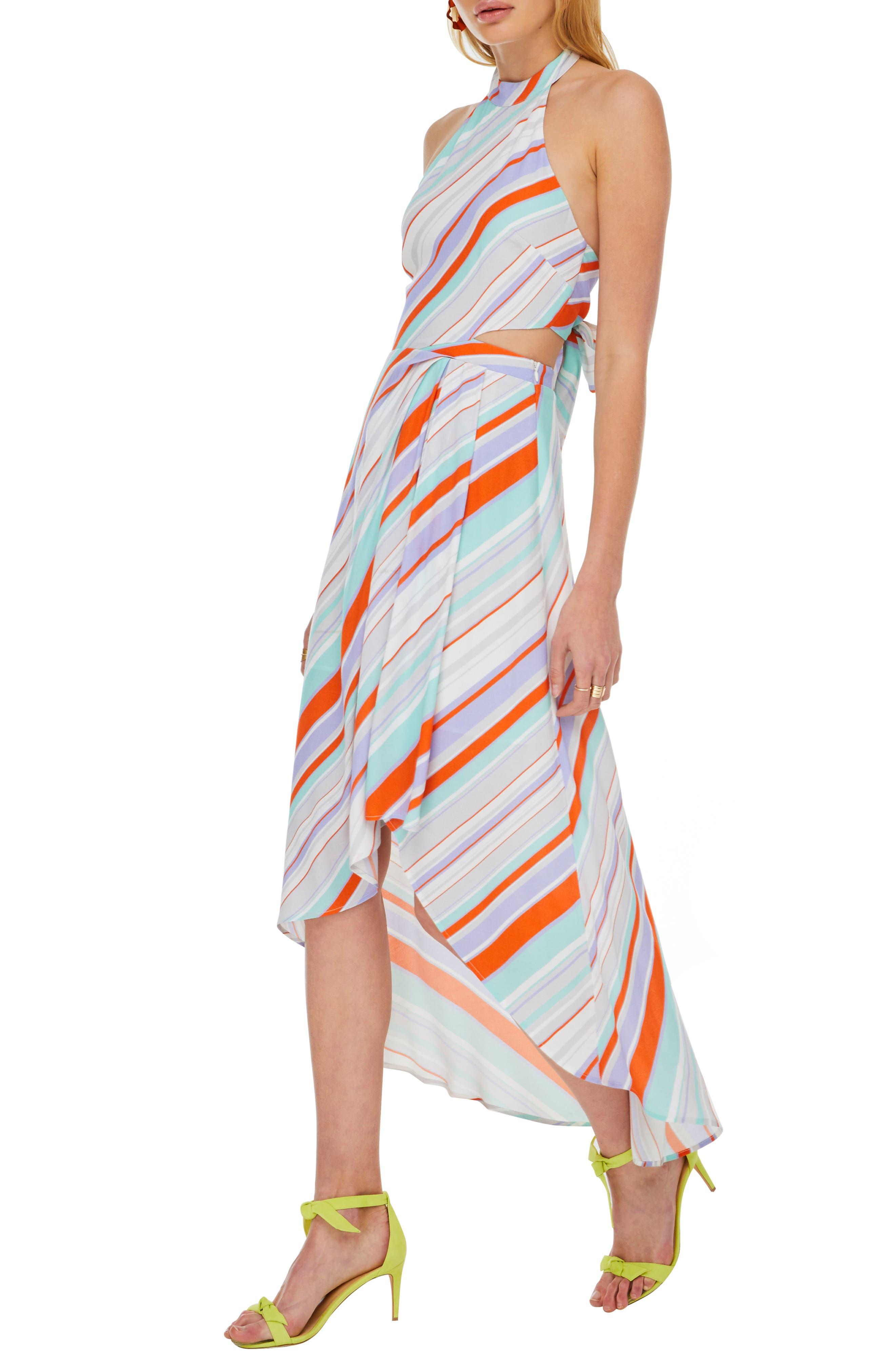 ,                             Illusion Maxi Dress,                             Alternate thumbnail 3, color,                             800