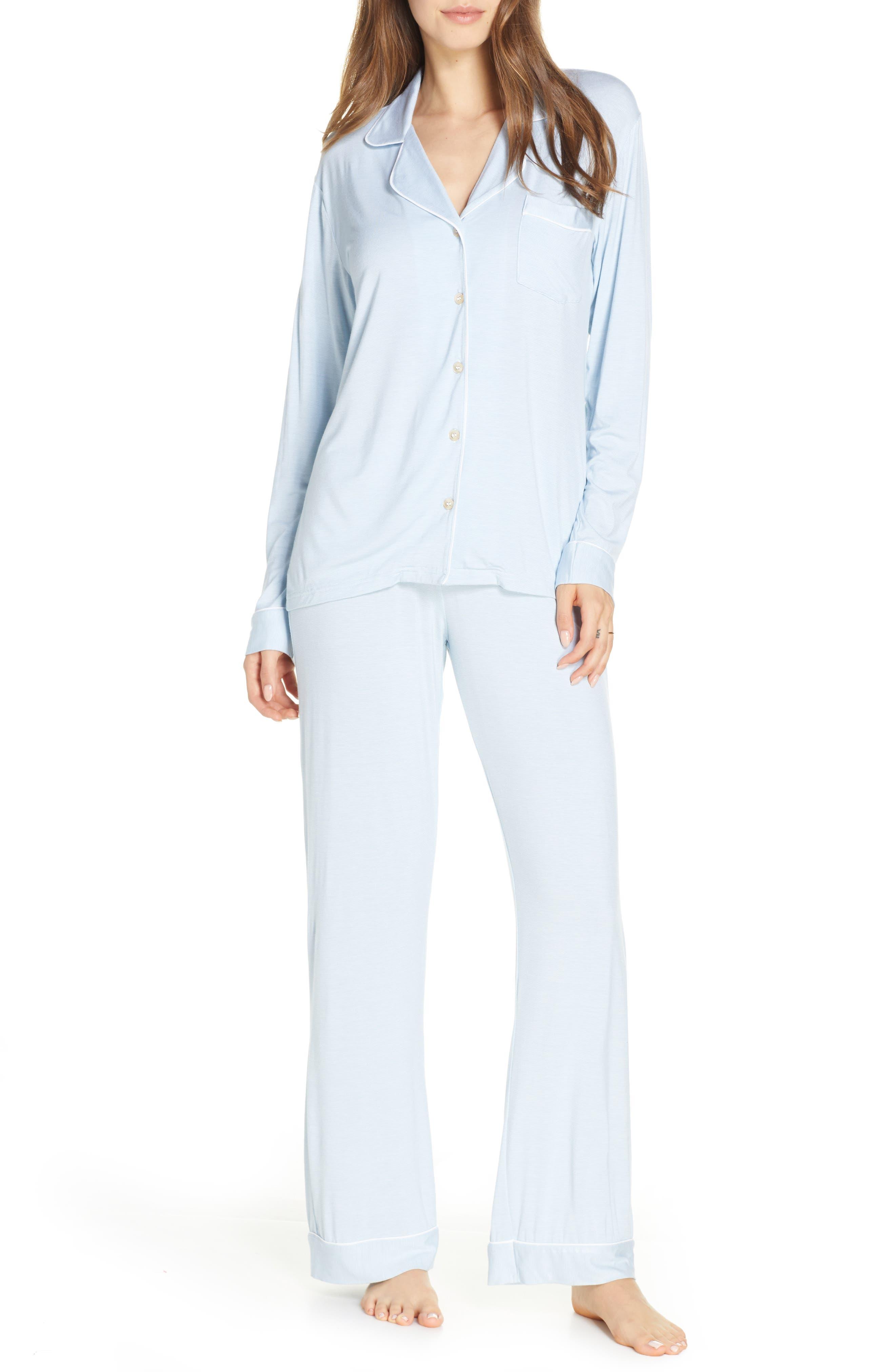 UGG® Lenon Mini Stripe Jersey Pajamas