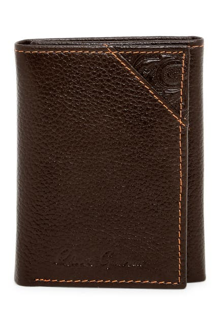 Image of Robert Graham Kent Leather Trifold Wallet