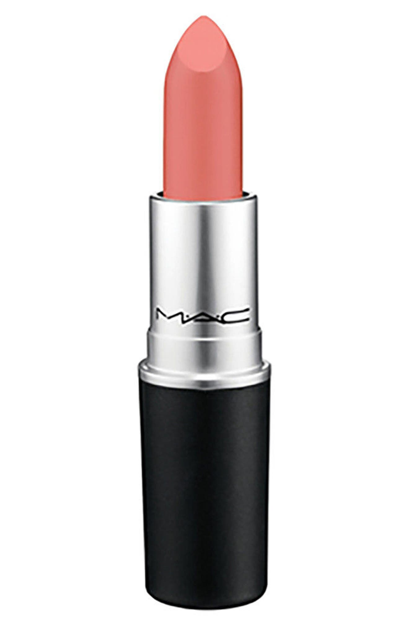 ,                             MAC Strip Down Nude Lipstick,                             Main thumbnail 253, color,                             268