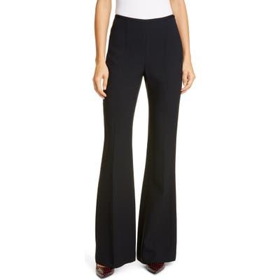 Michael Kors Side Zip Flare Leg Pants, Black