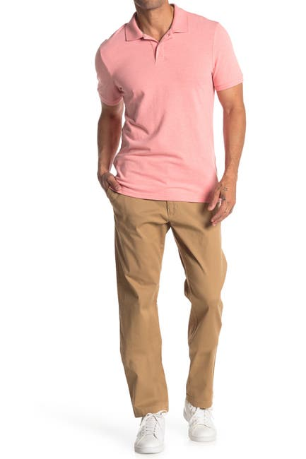Image of WALLIN & BROS Stretch Twill Athletic Fit Chino Pants