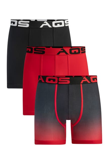 Image of AQS Assorted Boxer Briefs - Pack of 3