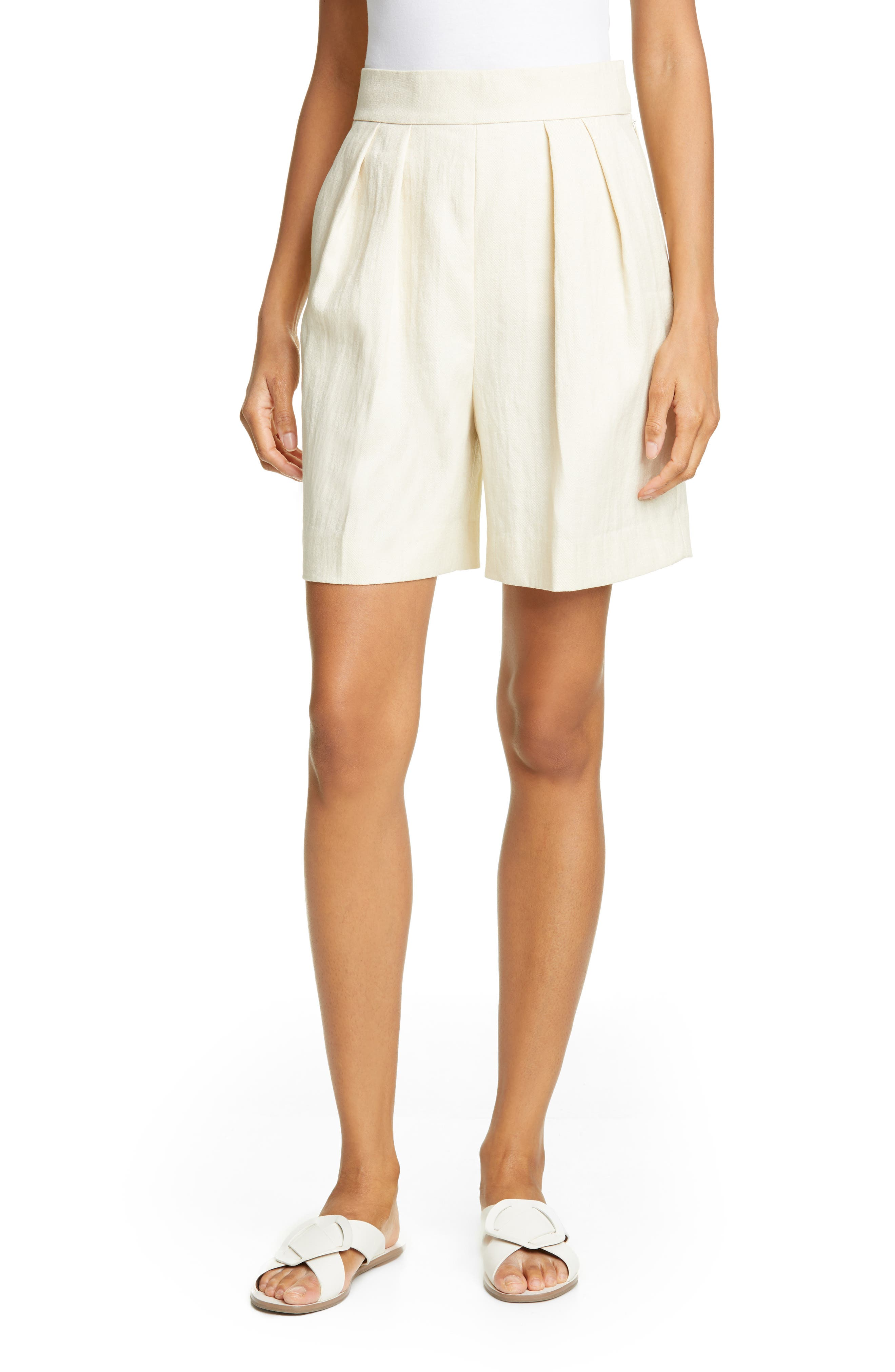 Pleated Shorts, Main, color, 250