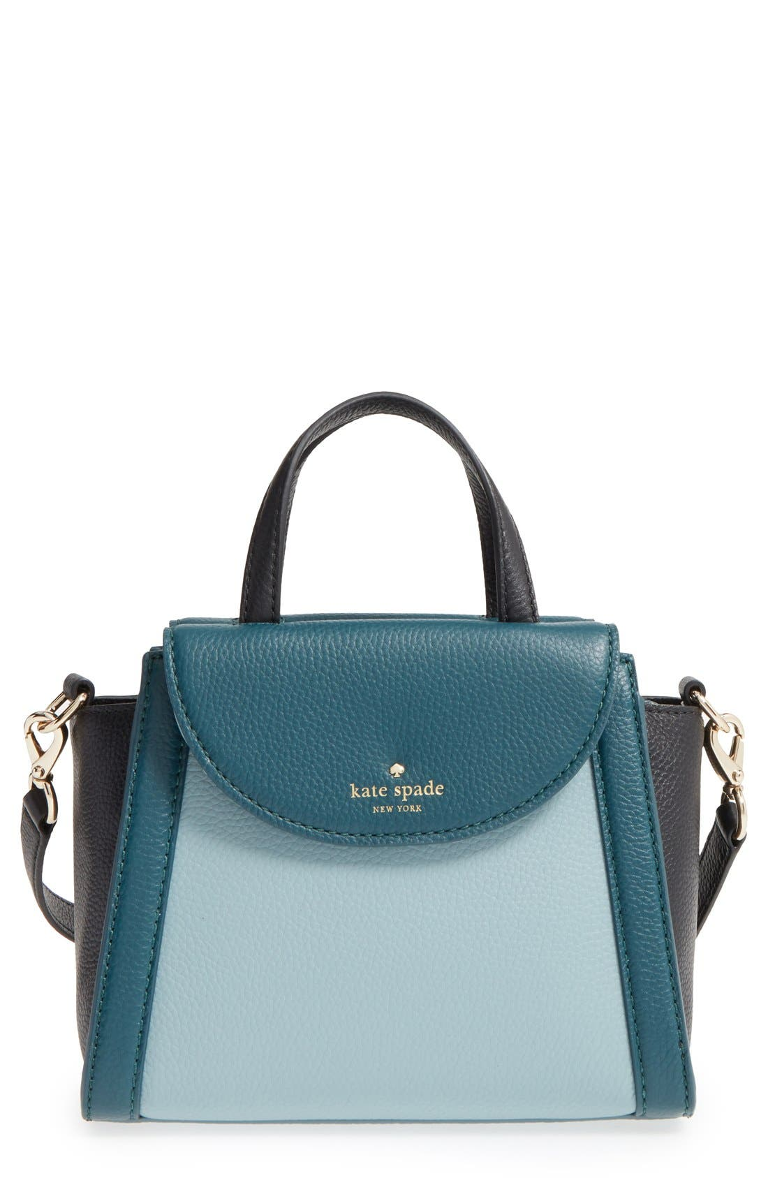 ,                             'cobble hill - small adrien' leather satchel,                             Main thumbnail 7, color,                             320