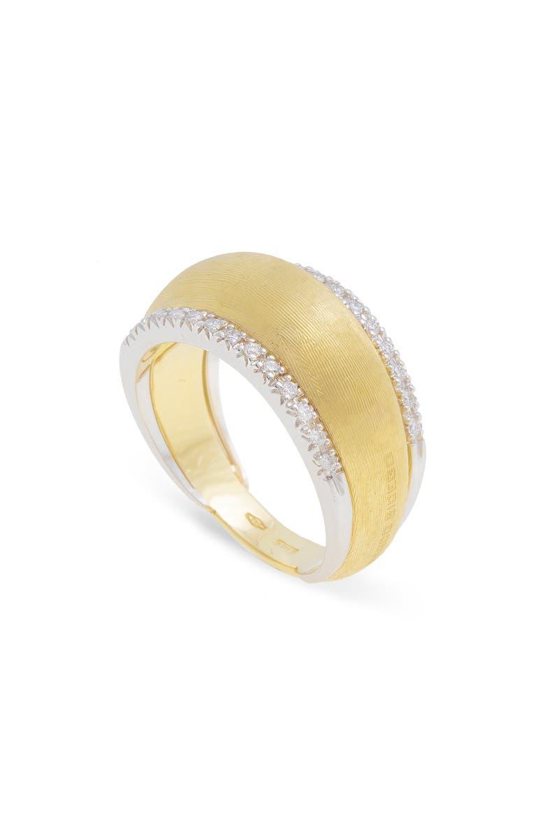 MARCO BICEGO Lucia Diamond Ring, Main, color, GOLD/ DIAMOND