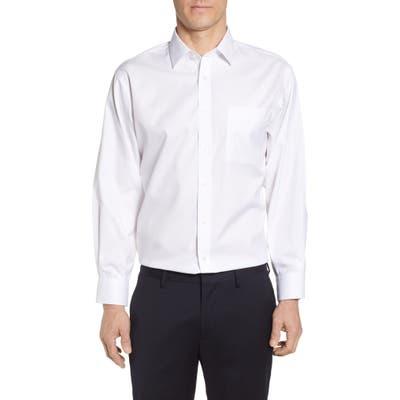 Nordstrom Shop Smartcare(TM) Classic Fit Solid Dress Shirt, 5.5 34/35 - White