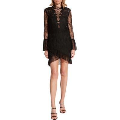 Bardot Wistonia Lace Cocktail Dress, Black