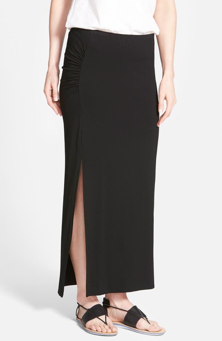 VINCE CAMUTO Side Slit Maxi Skirt, Main, color, 006