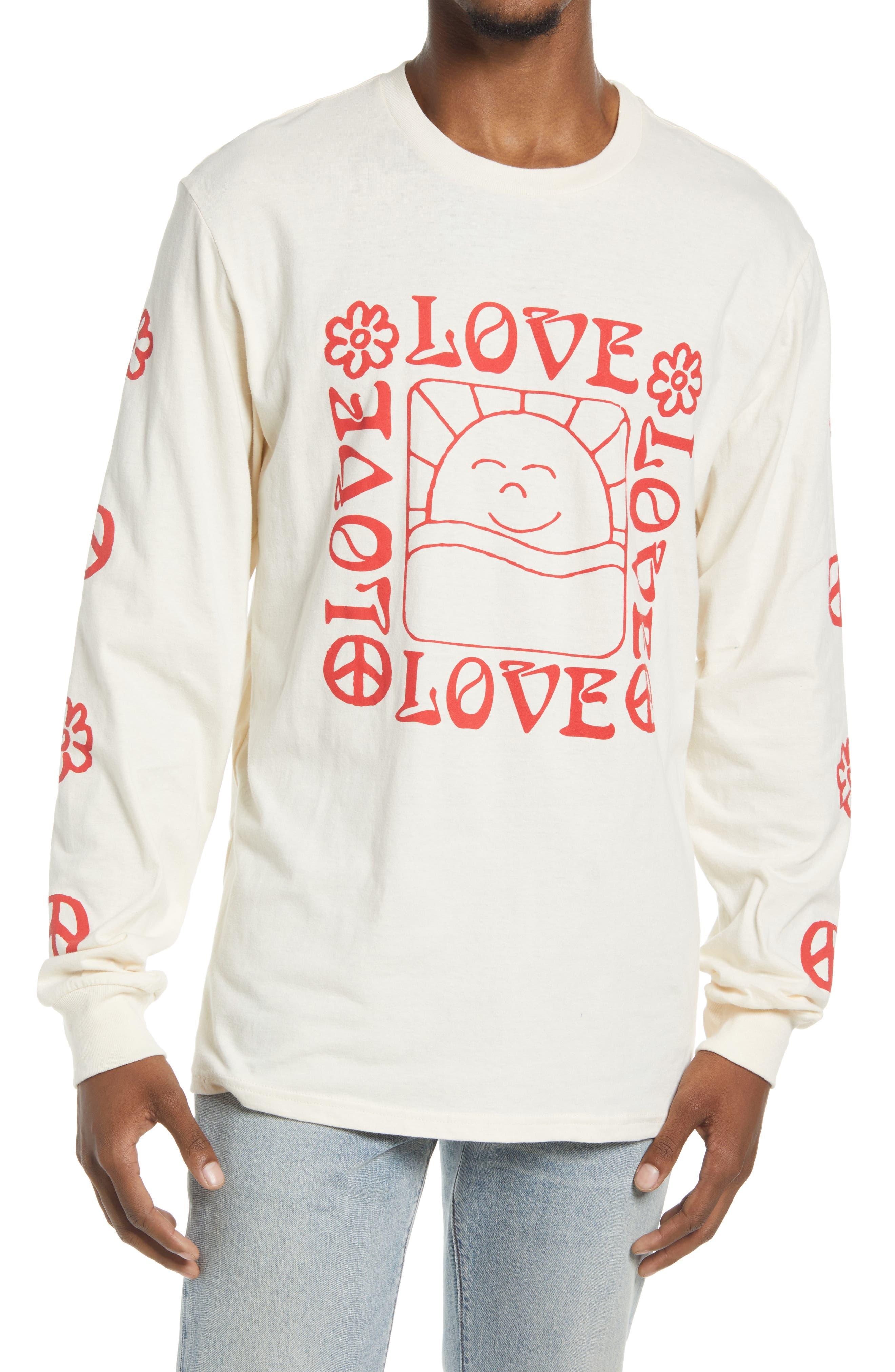 Men's Love Long Sleeve Graphic Tee