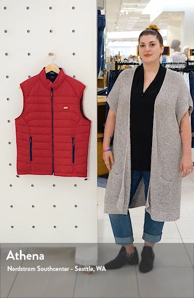 Hudson Classic Quilted Nylon Vest, sales video thumbnail