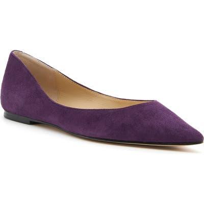 Botkier Annika Pointy Toe Flat- Purple