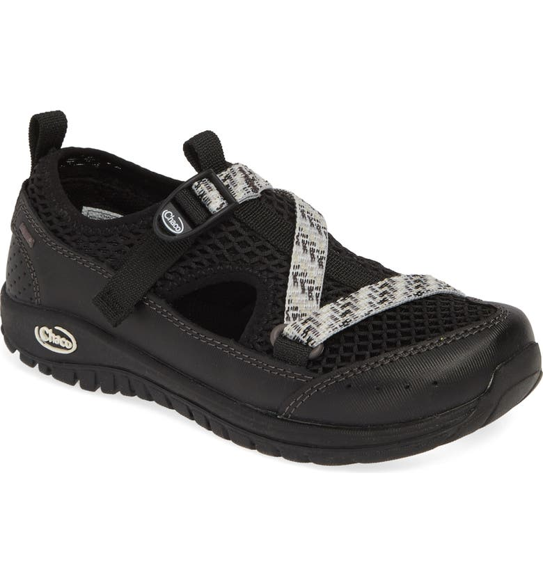 CHACO Odyssey Amphibious Hiking Sneaker, Main, color, BLACK
