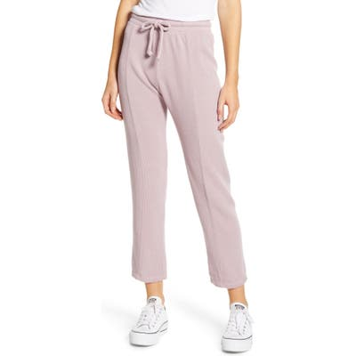 Wildfox Kara Drawstring Sweatpants, Purple