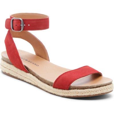 Lucky Brand Garston Espadrille Sandal, Red