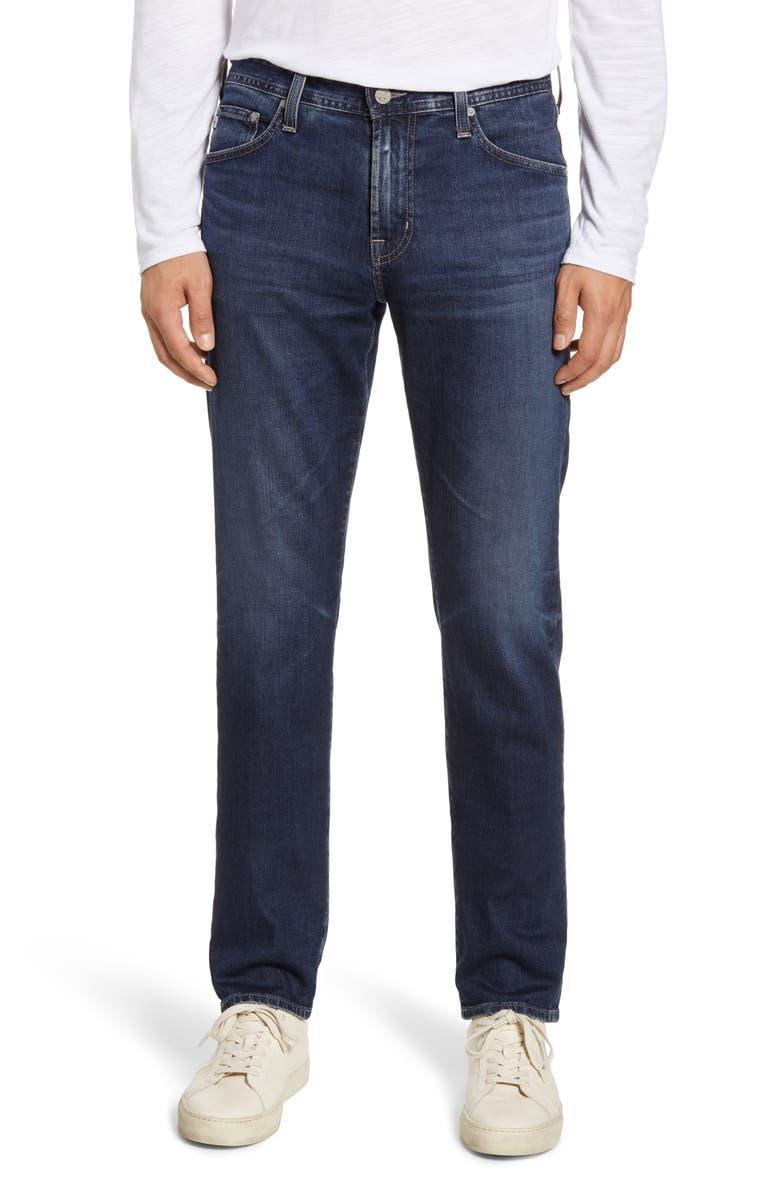 AG Everett Slim Straight Leg Jeans, Main, color, 4 YEARS RANGER