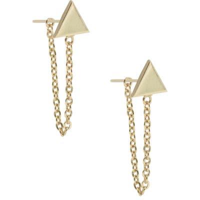 Uncommon James By Kristin Cavallari Refinery Triangle Earrings