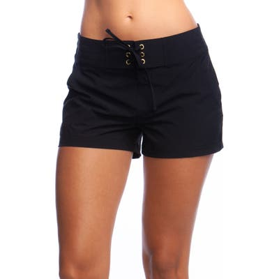 La Blanca 3-Inch Board Shorts, Black