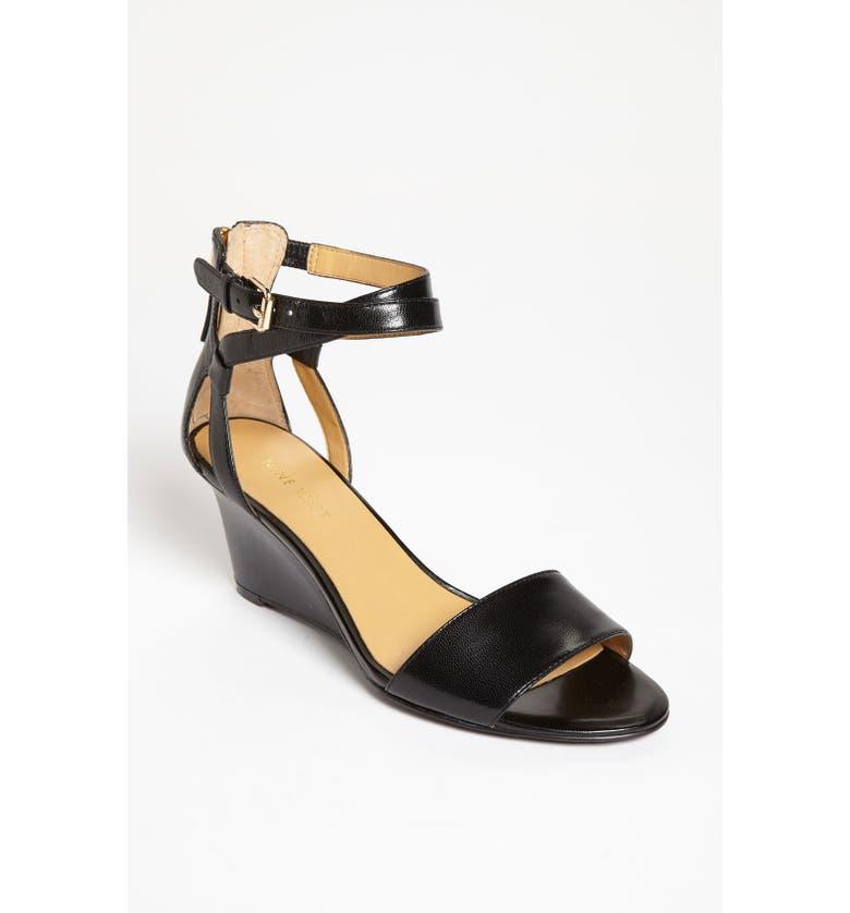 NINE WEST 'Reelymind' Sandal, Main, color, 001