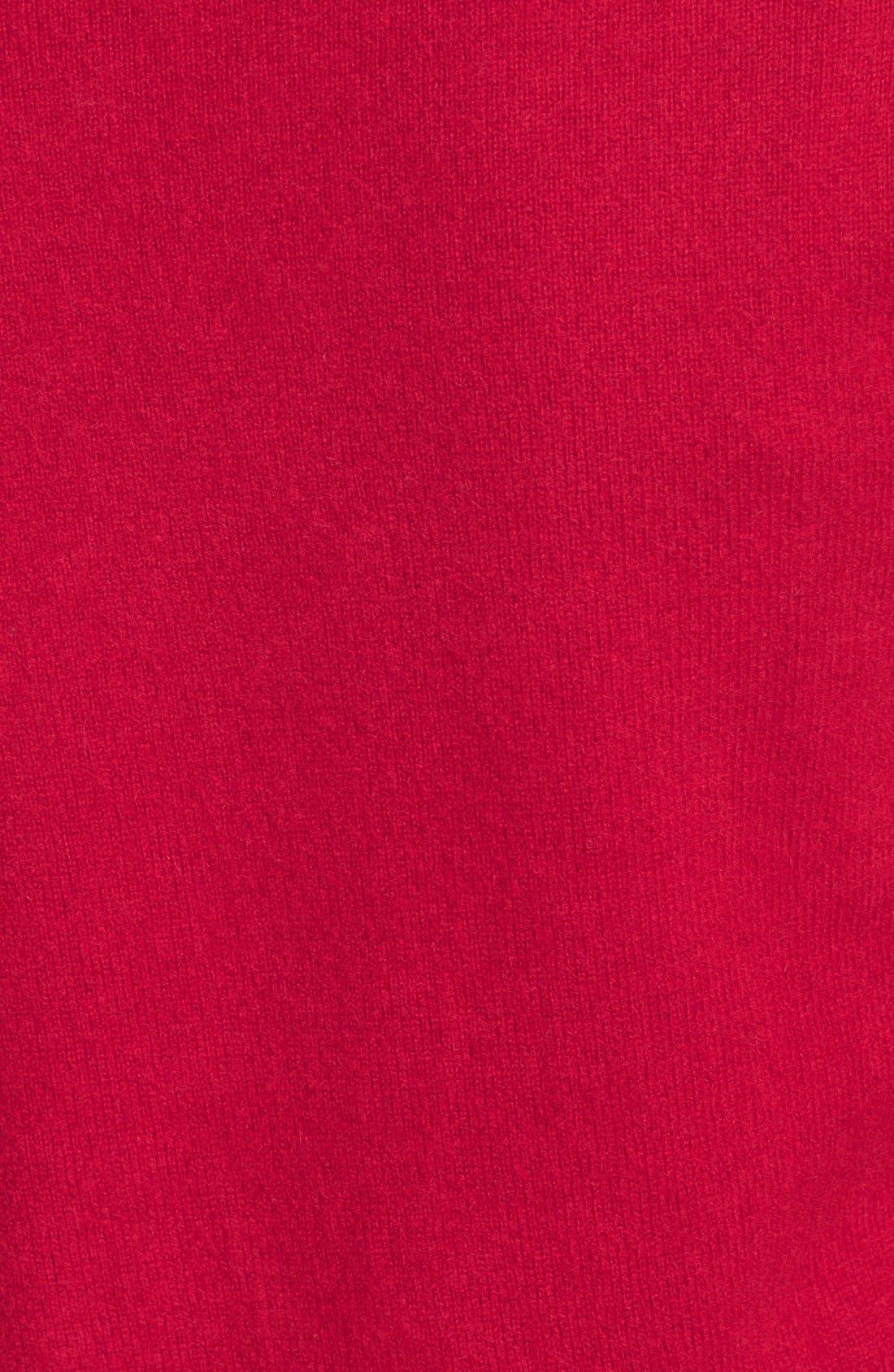 ,                             Cashmere V-Neck Sweater,                             Alternate thumbnail 70, color,                             610
