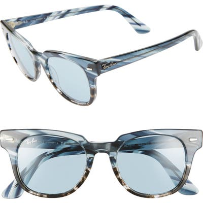 Ray-Ban Wayfarer 50Mm Square Sunglasses - Blue Gradient/ Grey