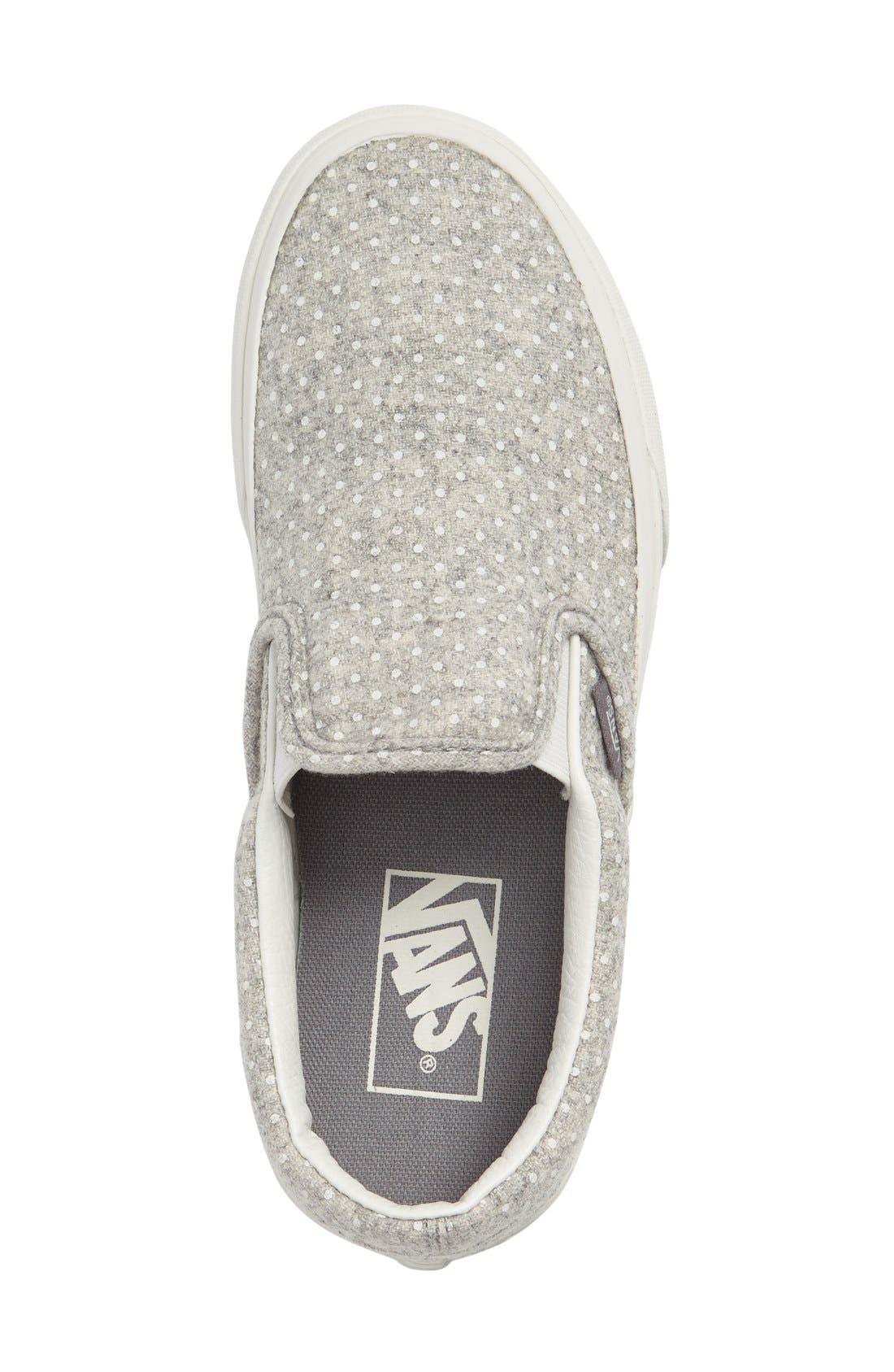 ,                             Classic Slip-On Sneaker,                             Alternate thumbnail 256, color,                             020