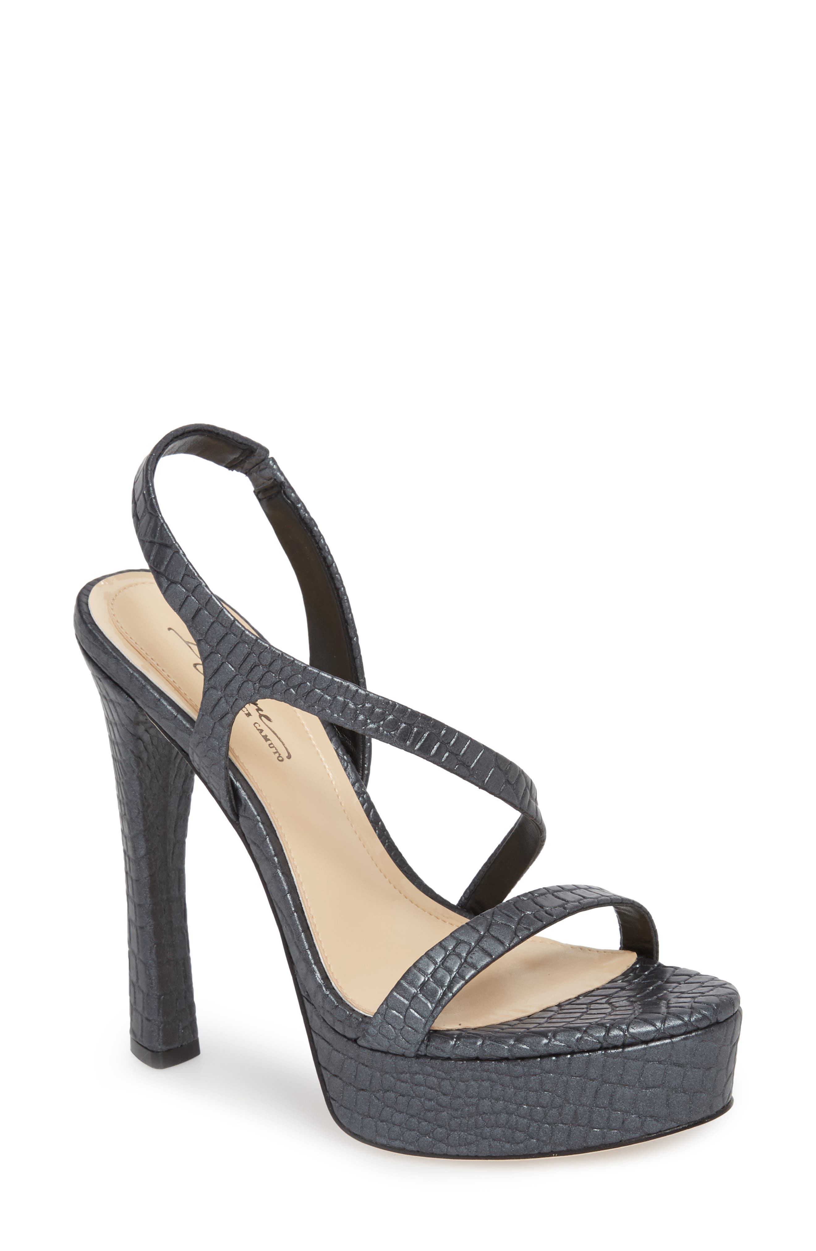 Imagine By Vince Camuto Piera Platform Sandal- Black