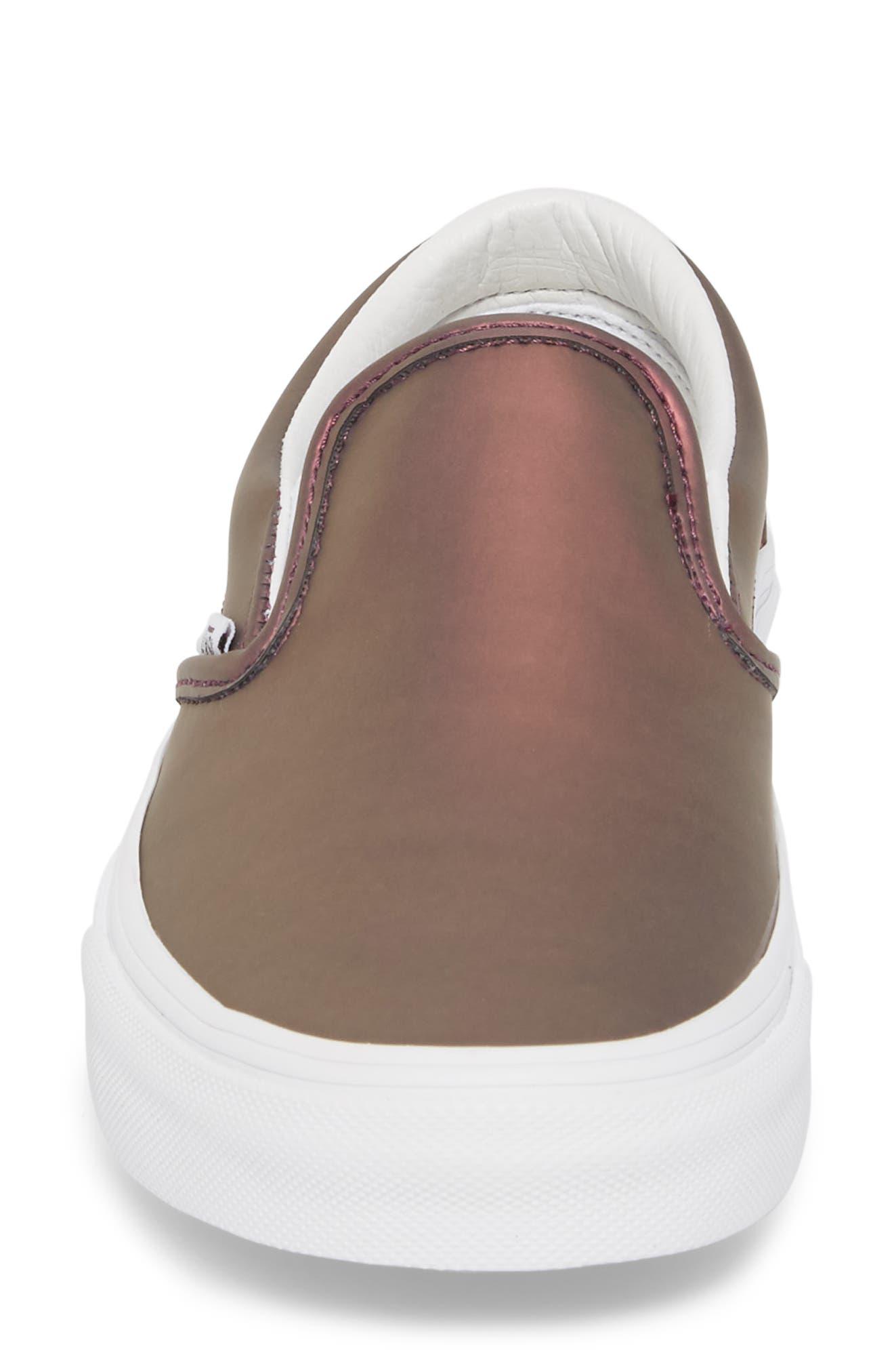 ,                             Classic Slip-On Sneaker,                             Alternate thumbnail 186, color,                             610