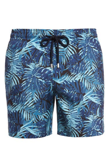 9f89b4da2e Vilebrequin Mahina Madrague Print Packable Swim Trunks | Nordstrom