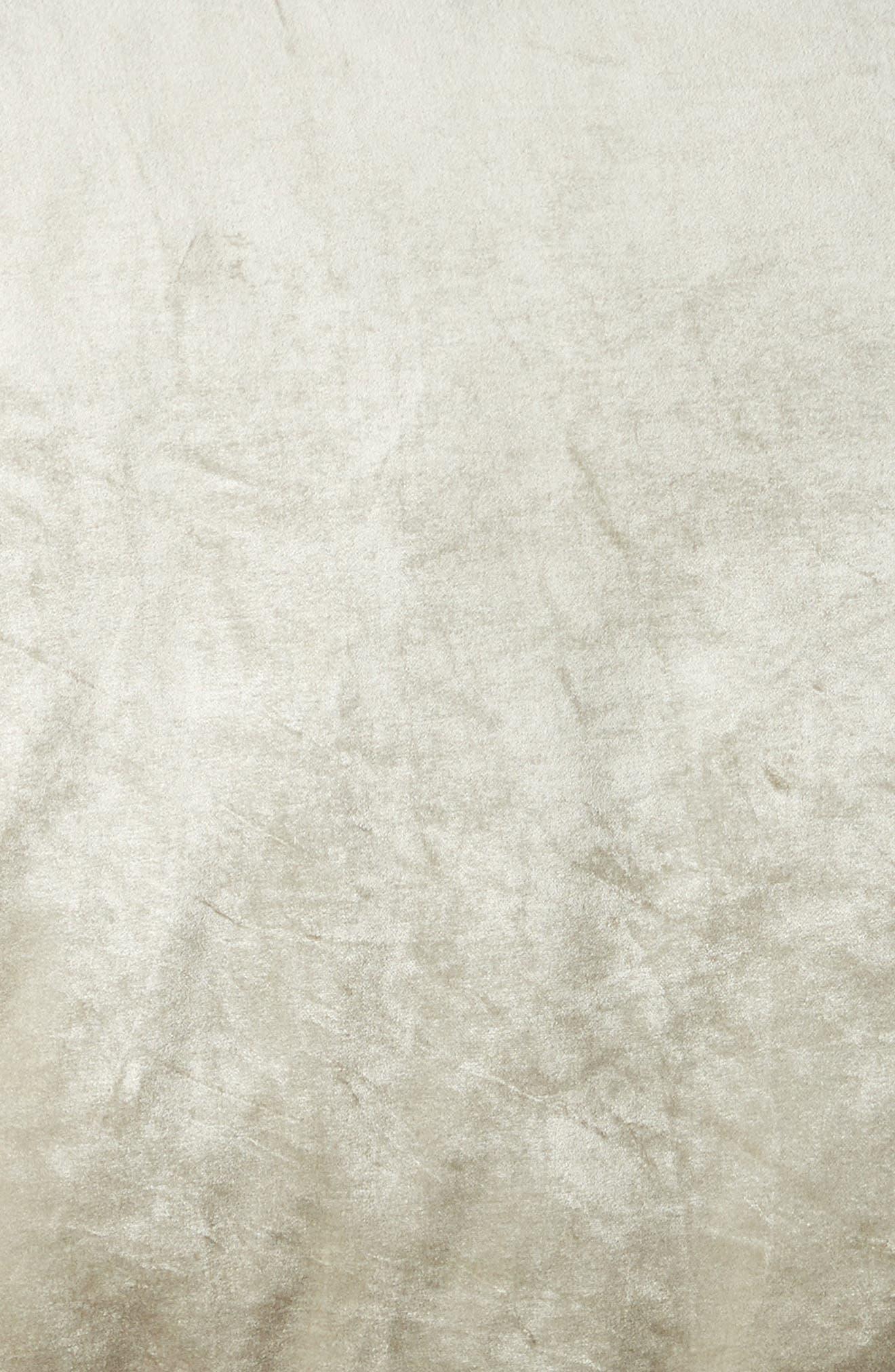 ,                             Shimmer Velvet Duvet Cover,                             Alternate thumbnail 3, color,                             GREY OPAL