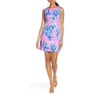 Lilly Pulitzer Mila Sleeveless Stretch Sheath Dress, Purple