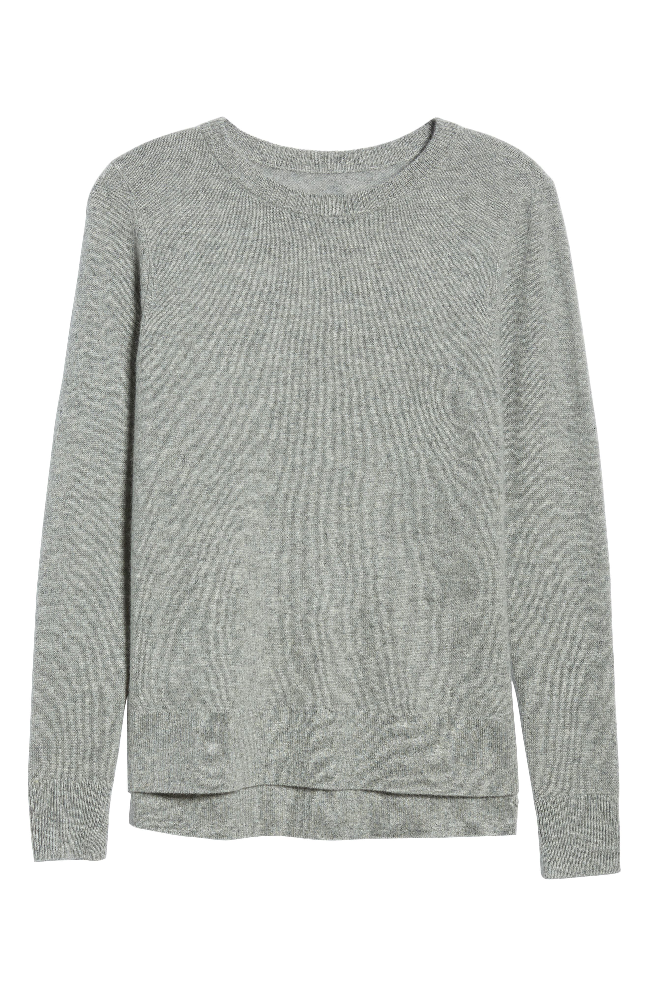 ,                             Crewneck Cashmere Sweater,                             Alternate thumbnail 34, color,                             030