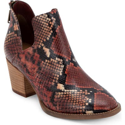 Blondo Neda Waterproof Bootie- Burgundy