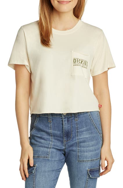 Image of Dickies Cropped Pocket Tee