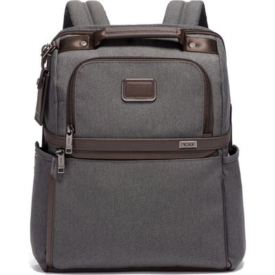 Tumi Alpha 3 Collection Slim Solutions Laptop Brief Pack - Grey