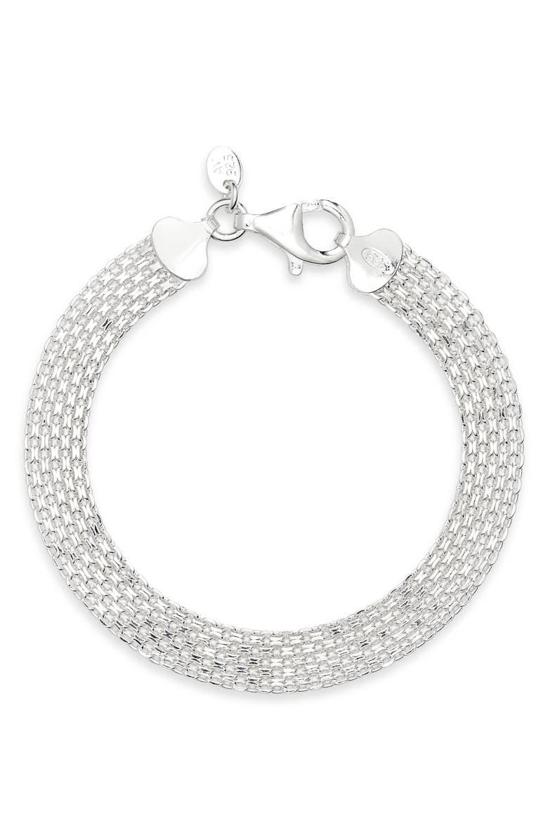 ARGENTO VIVO Positano Chain Bracelet, Main, color, 040