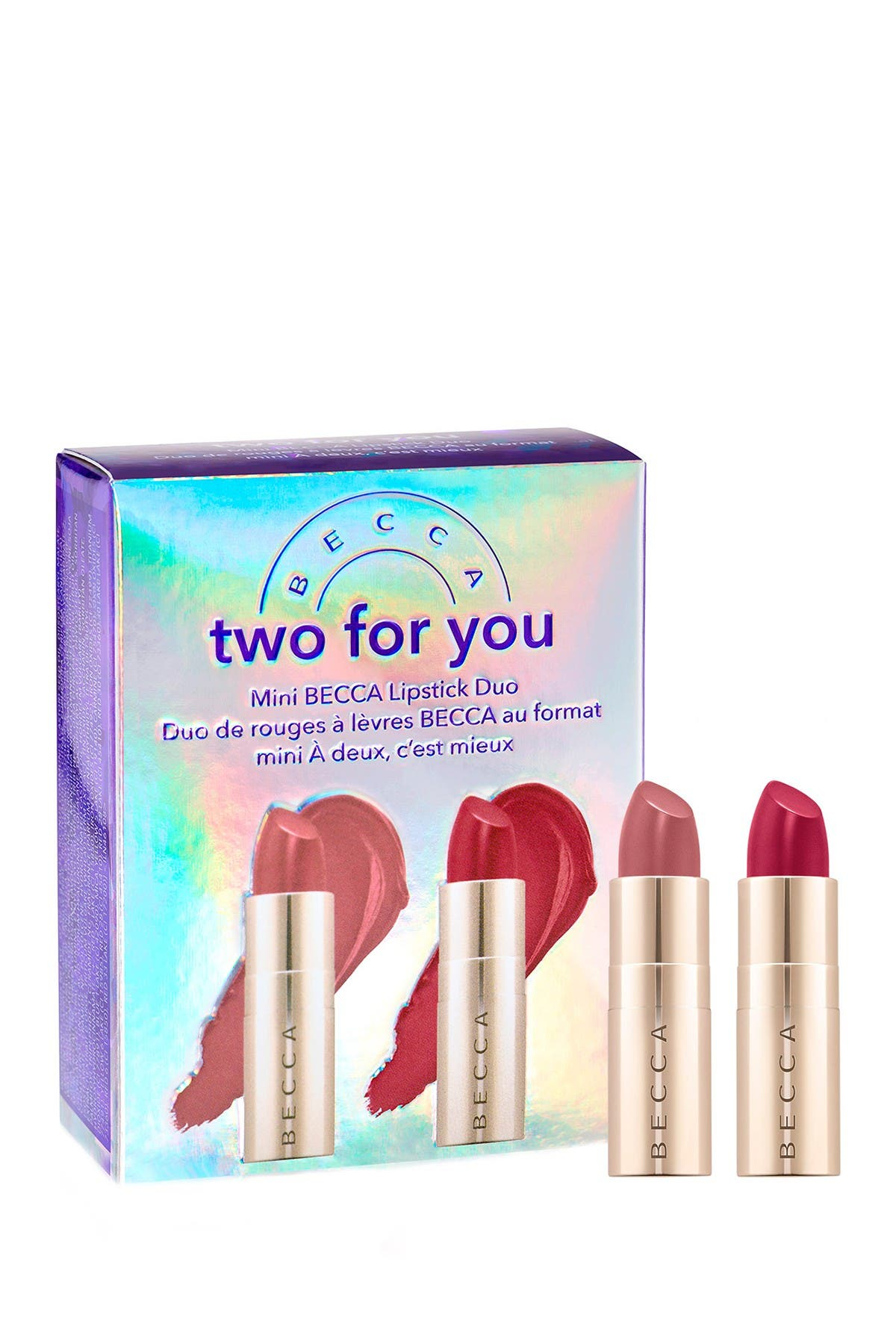 Image of BECCA Cosmetics Two For You Mini Lipstick Duo