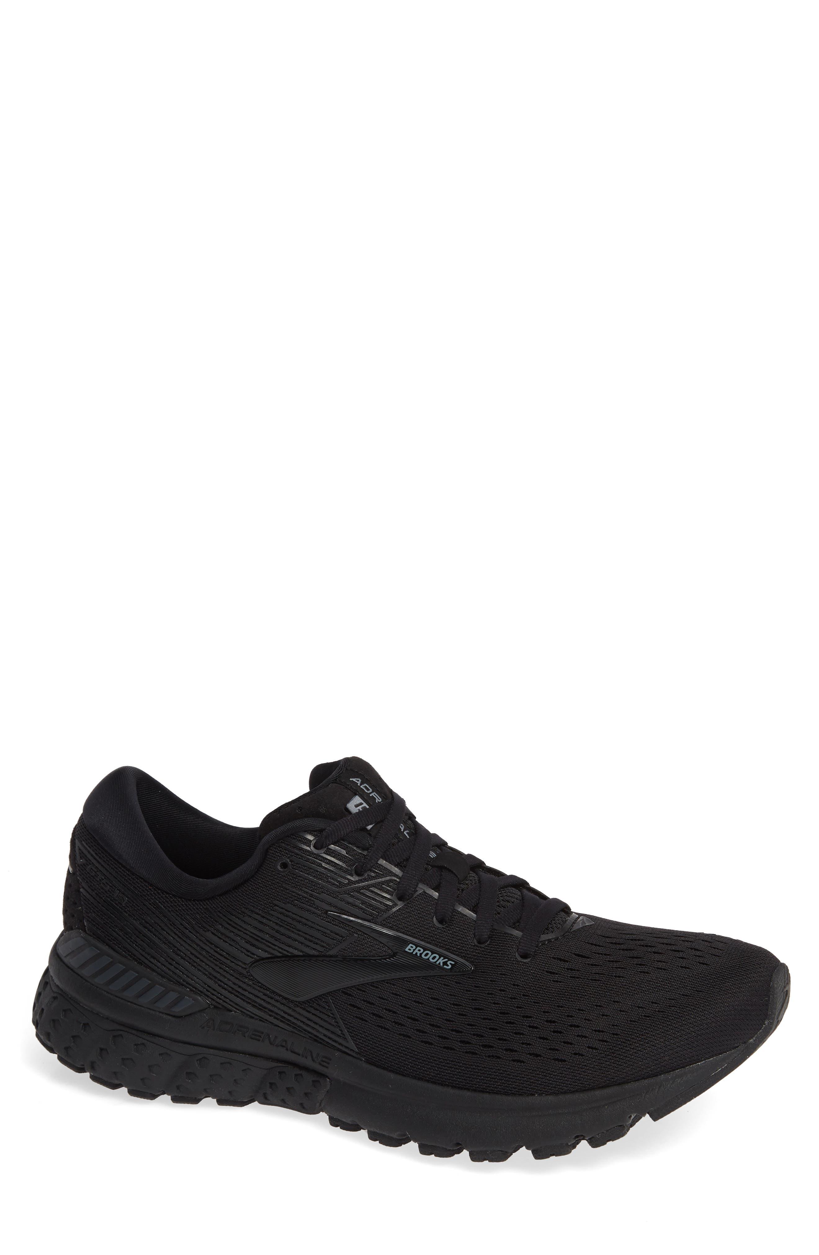Brooks Adrenaline Gts 19 Running Shoe EEEE - Black