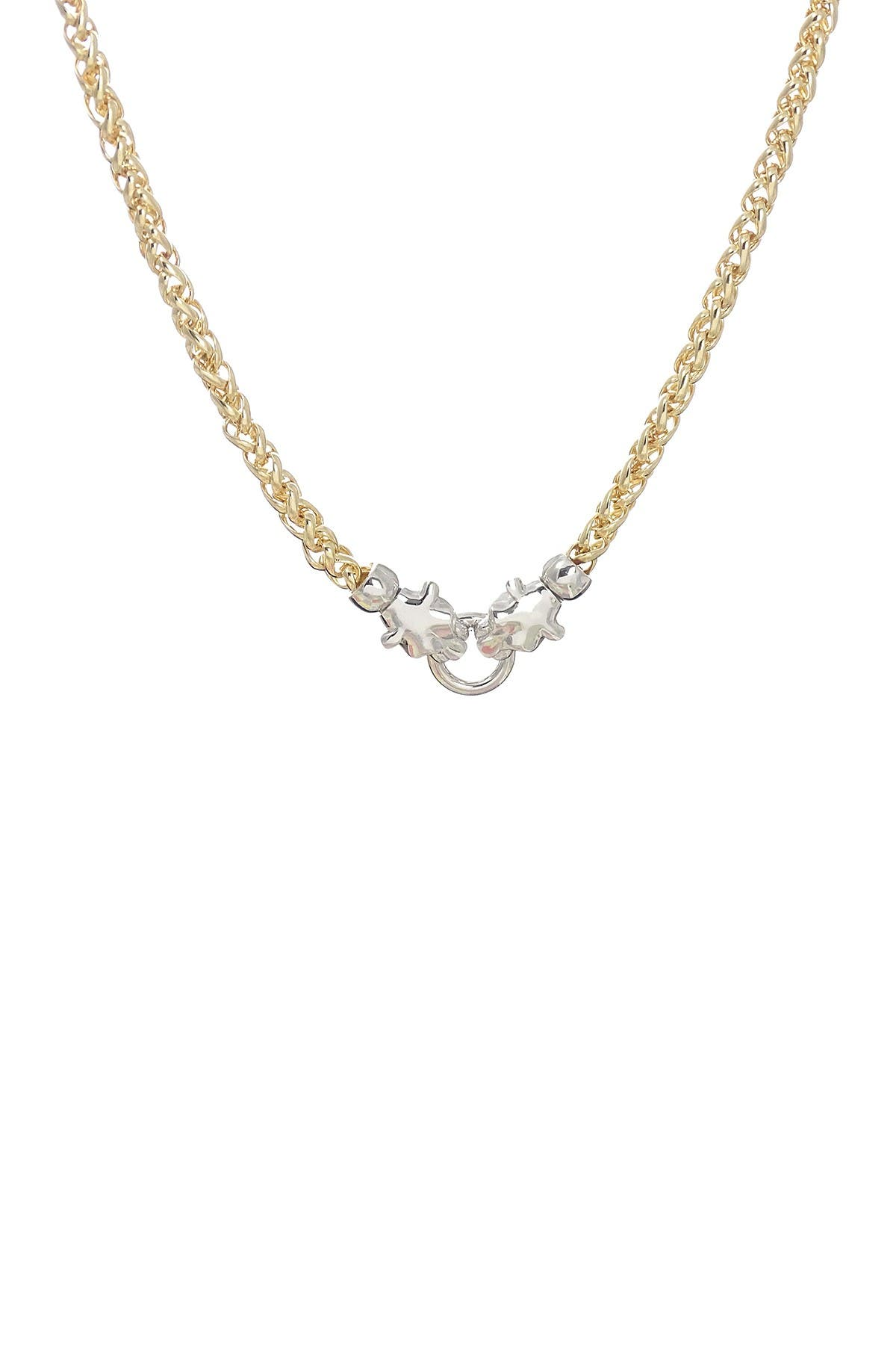 Image of Savvy Cie 18K Gold Plated Panther Necklace