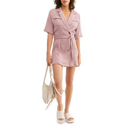 Endless Summer By Free People Clementine Mini Dress, Purple