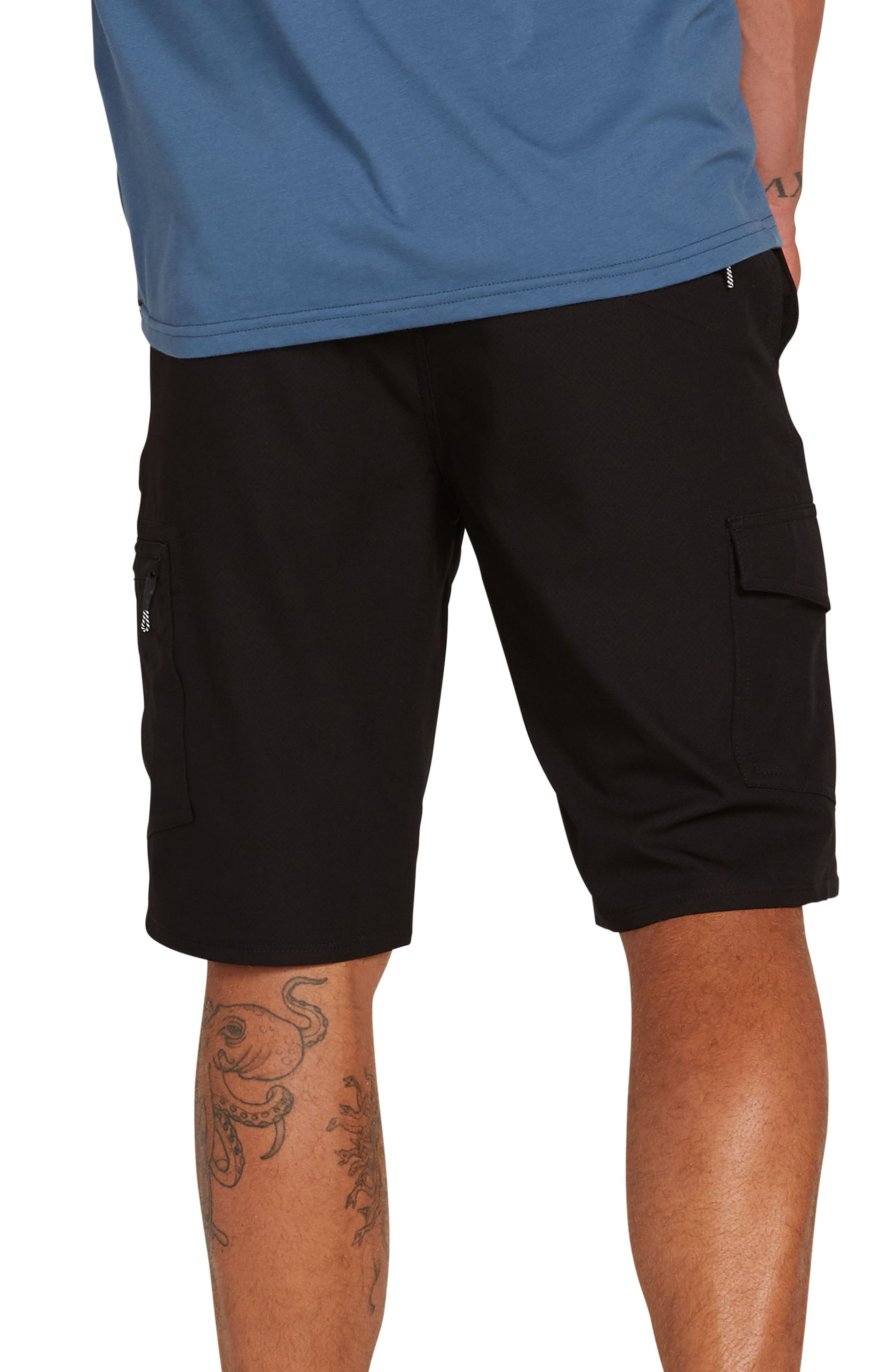 ,                             Surf N' Turf Dry Hybrid Cargo Shorts,                             Alternate thumbnail 2, color,                             BLACK OUT